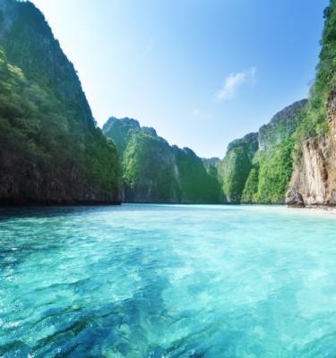 Nature art - Blue Lagoon