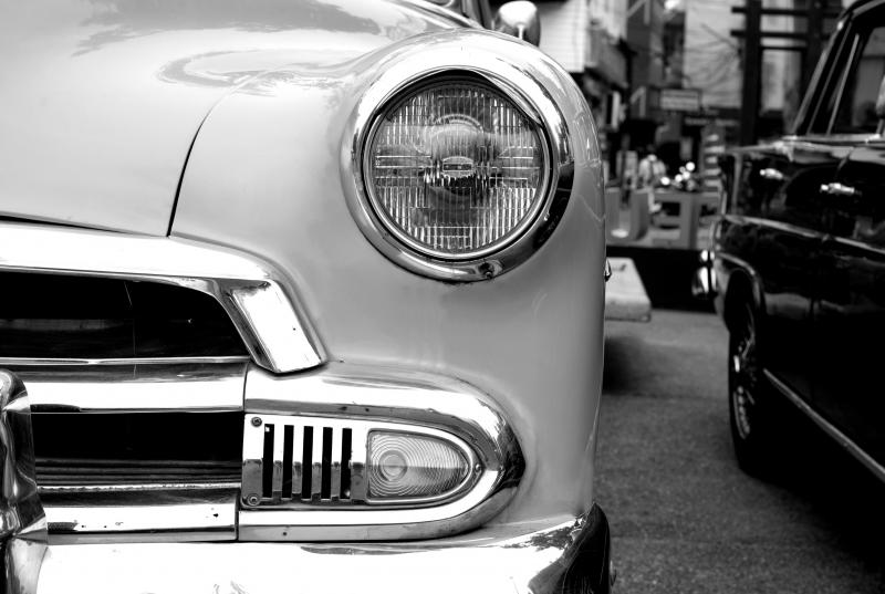 Urban art - Vintage Car