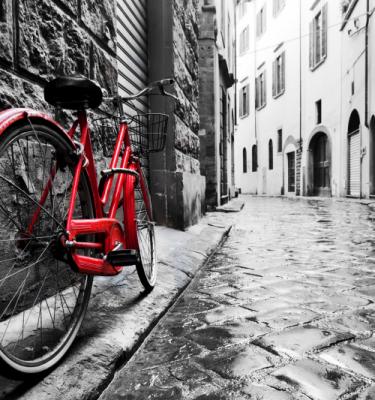 Urban art - Red Bike