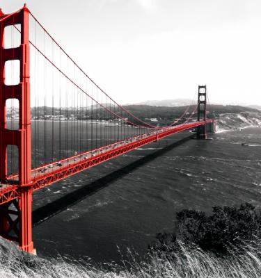 Urban art - Golden Gate Bridge