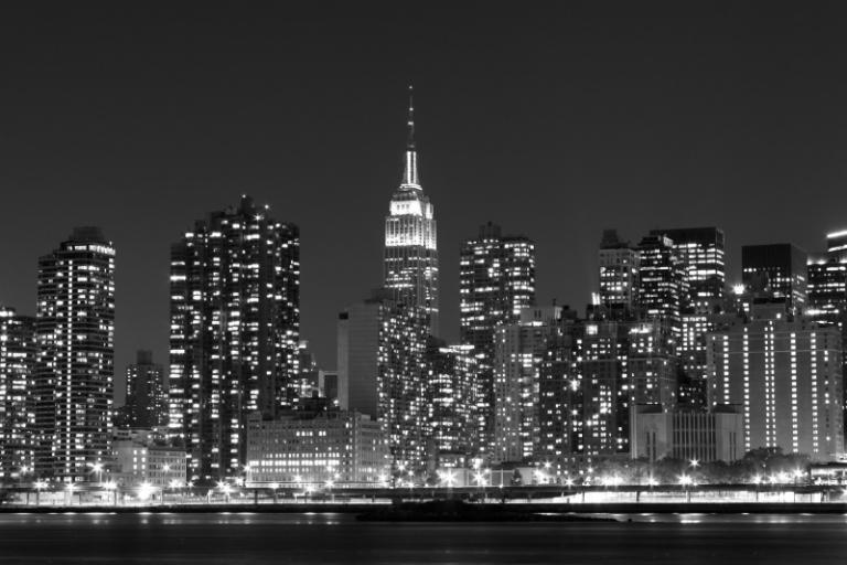 Urban art - New York City Night