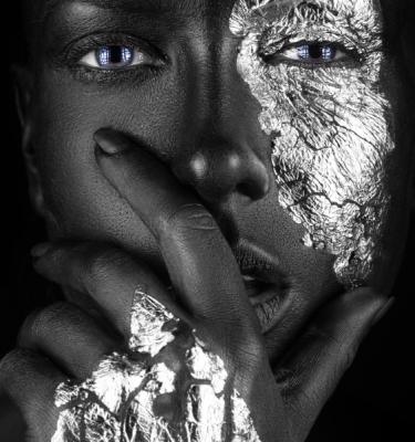 Artistic Beauty - Black & Silver Beauty