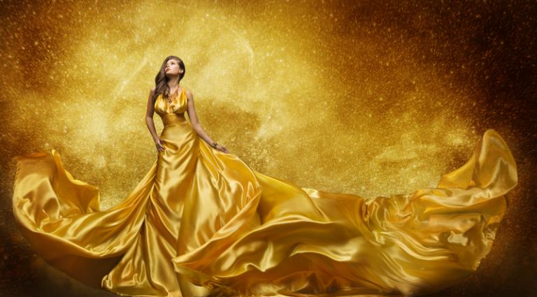 Artistic Beauty - Lady Golden