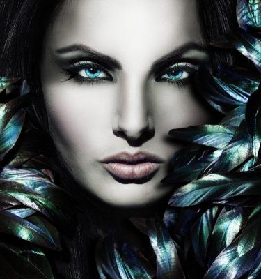 Artistic Bueaty - Big blue Eyes