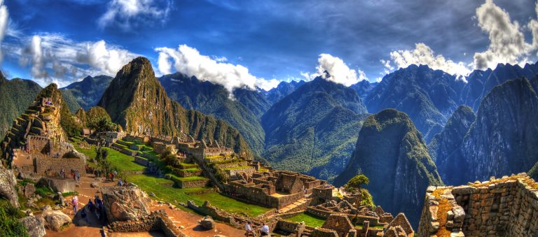 Nature art - Machu Picchu